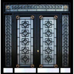 apartman kapısı